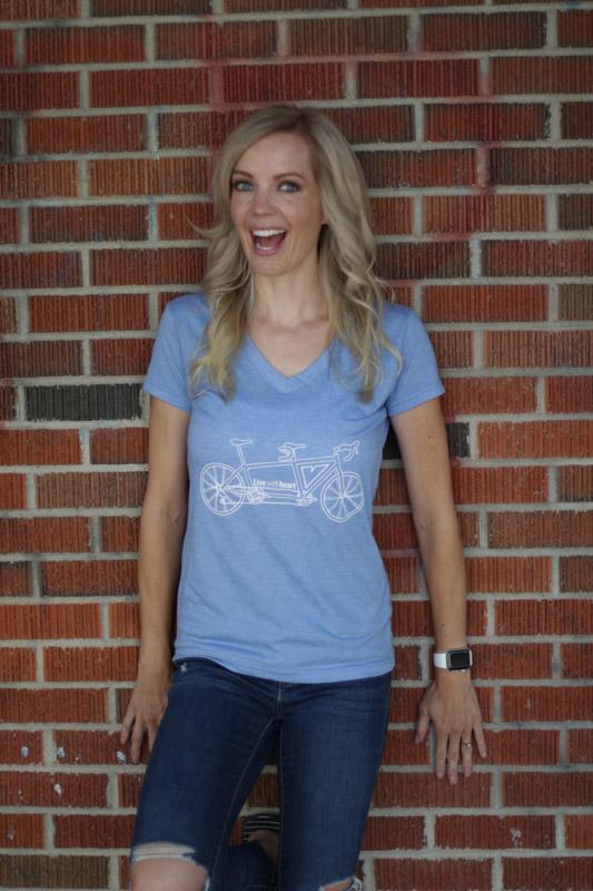 9e24dc6c3d03d ... Slim Fit V-Neck T-Shirt (Dark Heather Grey or Heather Blue). Sale!   
